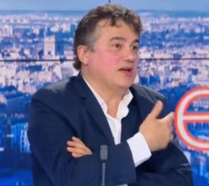 Patrick Pelloux, président de l'Association des médecins urgentistes de France.