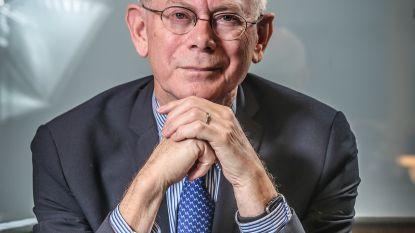 """Herman Van Rompuy (70) sust en stelt gerust: """"Trump, Poetin, Xi Jinping: alarmfase rood? Die drie regeren de wereld niet. Gelukkig maar"""""""