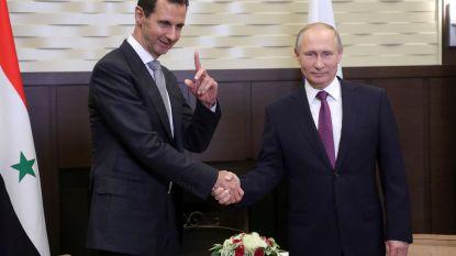 """Poetin: """"Oplossing voor conflict in Syrië vergt toegevingen van iedereen"""""""