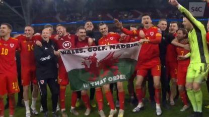 """Geen al te slimme zet van Bale, Welshman laat zich fotograferen met opmerkelijke vlag: """"Wales. Golf. Madrid. In die volgorde."""""""