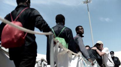 Minderjarigen van vluchtelingenboot Aquarius lopen weg uit opvang