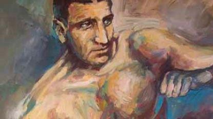 """Striptekenaar Charel Cambré eert zijn ijzersterke nonkel Stan op cover nieuw Amoras-album: """"Hij werd zelfs Belgisch bokskampioen"""""""