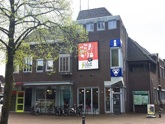 VVV Deurne aan de Markt, voor de verhuizing naar het gemeentehuis.