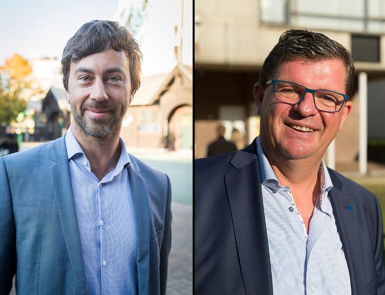 Wouter De Vriendt (Groen) en Bart Tommelein (Open Vld).
