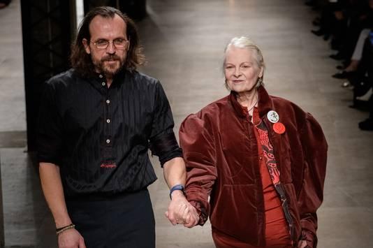 Vivienne en haar man Andreas.