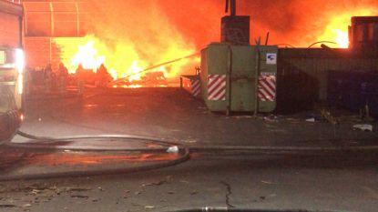 Uitslaande brand bij afvalverwerkend bedrijf Renewi in Turnhout onder controle