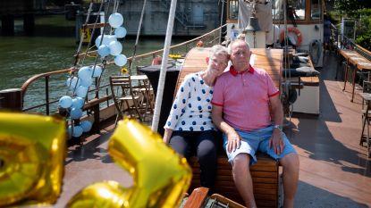 Karel en Lisette zijn 55 jaar gelukkig samen
