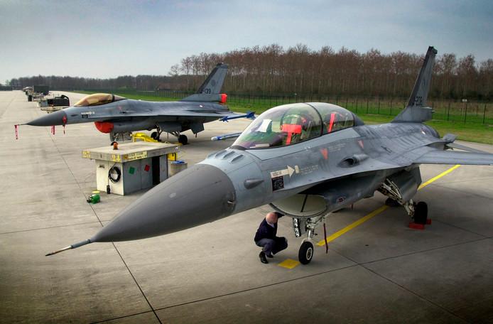 F-16 op Volkel.