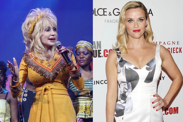 """Dolly Parton is bang dat haar goeie vriendin Reese Witherspoon de rol niet kan """"dragen""""."""
