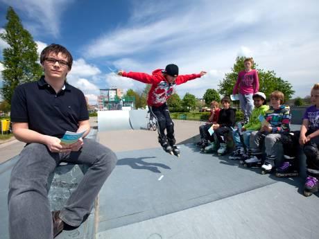 Alphense skatebanen tóch niet weg, ondanks vandalisme