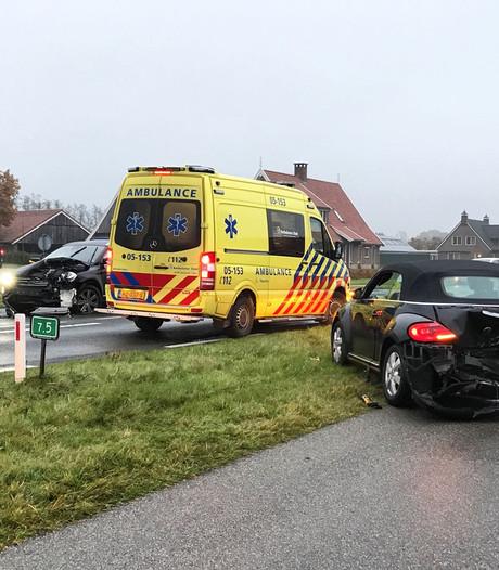 Ongeval met letsel op N349 Albergen