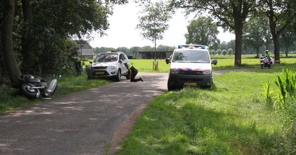 Motorrijder gewond bij ongeval in Kring van Dorth.