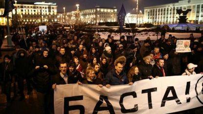 Belasting voor 'luieriken' lokt protest uit in Wit-Rusland