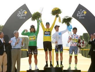 Alle klassementen van de Tour de France