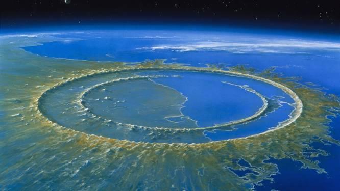 Dino's echte pechvogels: uitgestorven omdat meteoriet net dáár op aarde neerstortte