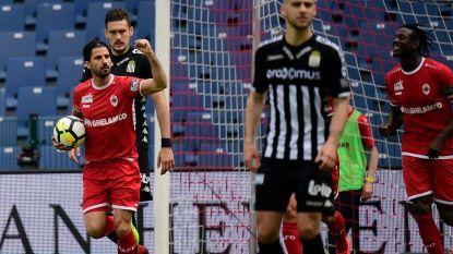LIVE. Antwerp en Charleroi op zoek naar Europa Leagueticket na knotsgekke eerste helft