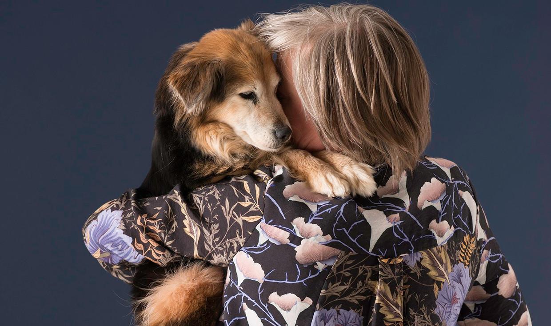 Simone Henken fotografeerde het leven en sterven van haar hond.