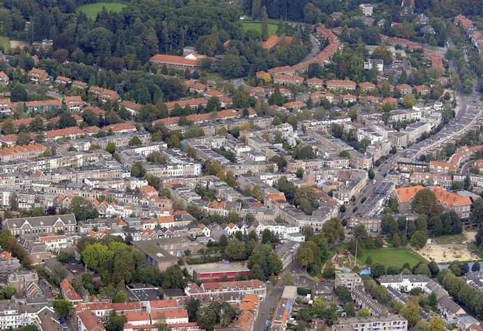 Sint Marten met midden onder het zogenoemde HKA-terrein. Foto Hans Broekhuizen/DG