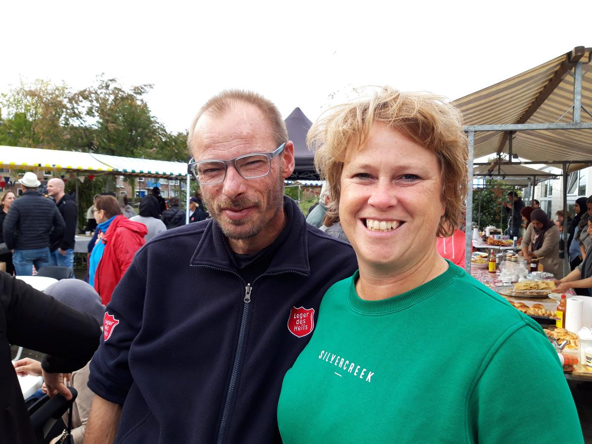 Willem Jan van der Kaaij en Mariska Jacobi.