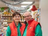 Bep en Frits vieren een maand lang feest in hun supermarkt