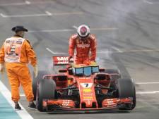 Teleurstellende laatste race Räikkönen in Ferrari