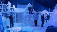 Disneyfilm gehouwen uit ijs
