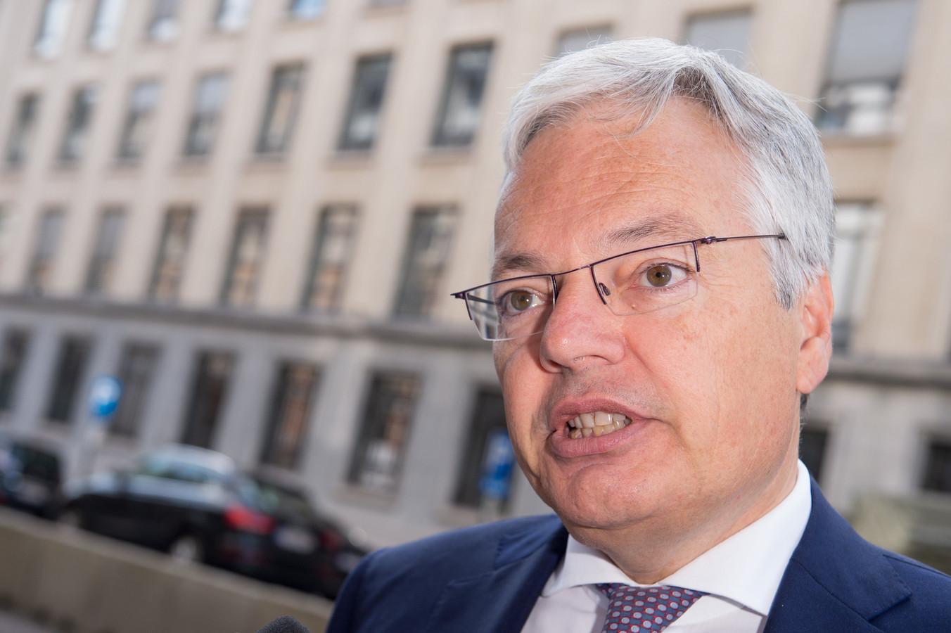 Didier Reynders, président du MR bruxellois.