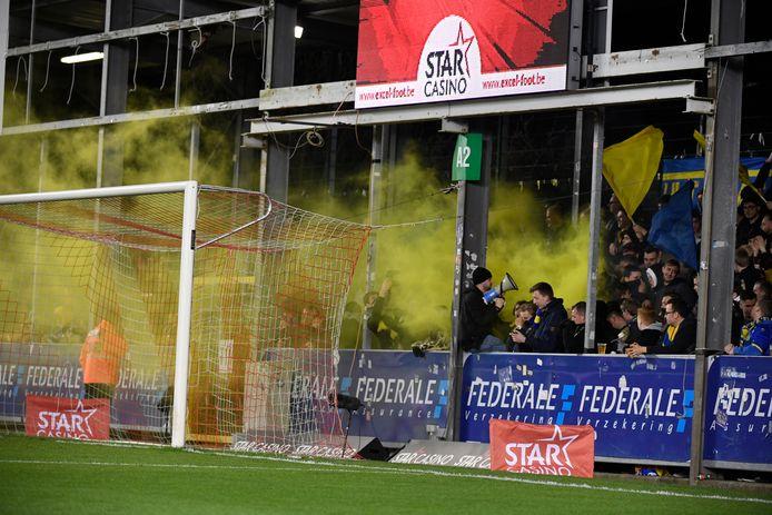 Les supporrters de Waasland-Beveren peuvent sabrer le champagne: :leur club reste en D1A.