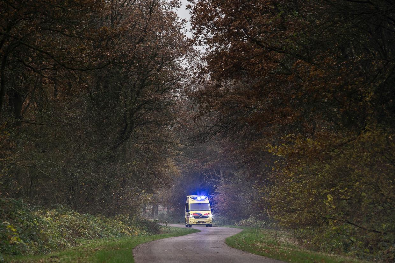 Een ambulance is onderweg in Drenthe.