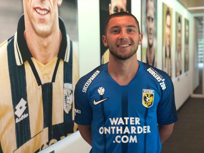 Maximilian Wittek, de eerste aanwinst van Vitesse.