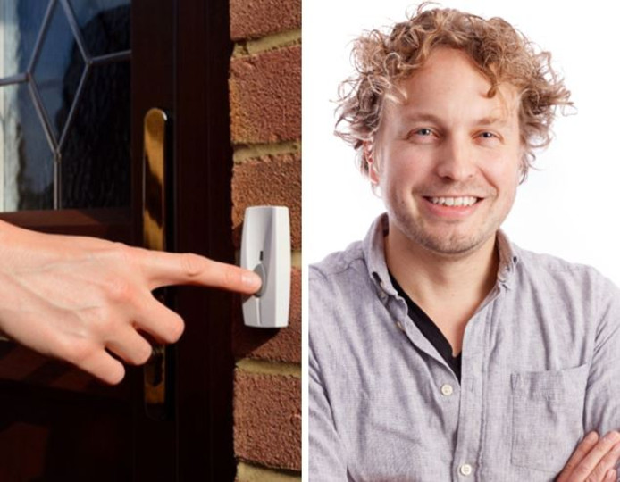 Afwimpelbaarheid, daar draait het volgens columnist Niels Herijgens om, wanneer er iemand aanbelt.