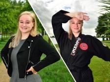Shannen (22) doet aan vechtsport kempo, maar straalt ook in jurkjes: 'Mooie manier om zelfverzekerder te worden'