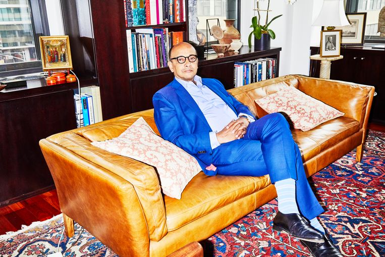 Kwame Anthony Appiah. Beeld Amy Lombard
