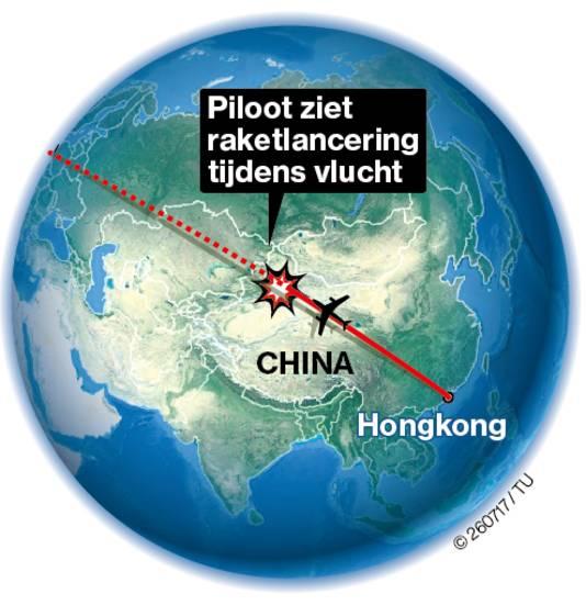 Boven de Himalaya bevindt zich volgens Heijst 'een heel uitgestrekt gebied zonder pottenkijkers'. ,,Zul je net zien dat er een Nederlander vliegt die het vastlegt. Ik denk niet dat de Chinezen daar rekening mee hielden.''