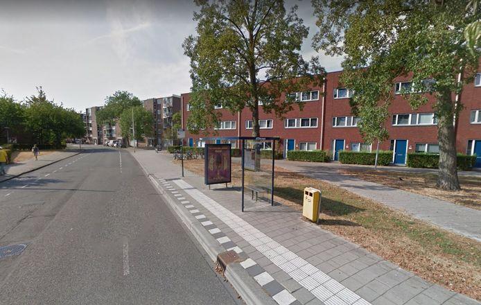 Deze bushalte in Zuilen verdwijnt volgens de nieuwe dienstregeling.