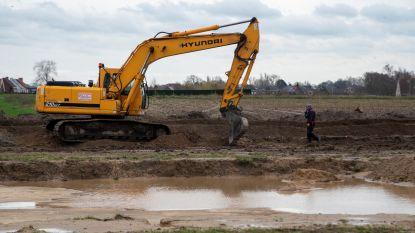 Archeologische vondsten van Romeinse gebouwen en waterputten op site Molenkouter