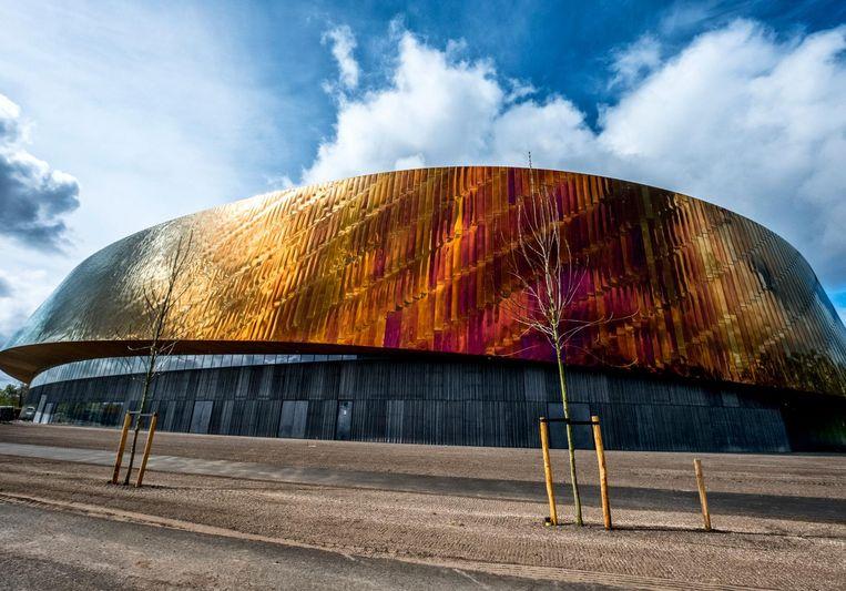 Nieuw sport complex op de plek van het oude Ado stadion in zuiderpark Beeld  raymond rutting / de volkskrant