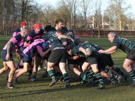 Deventer voetballers moeten velden inleveren voor de buren: rugbyclub