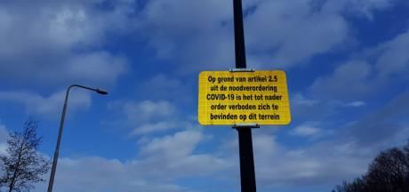 Gebiedsverboden voor skatebaan en parkeerplaatsen