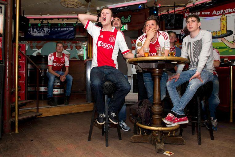Ajax speelt zondagmiddag in de Arena tegen aartsrivaal Feyenoord. Beeld anp