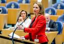 Tweede Kamerlid Fleur Agema (PVV) heeft zorg in haar portefeuille. ,,Het grote probleem is het wantrouwen in professionals.''
