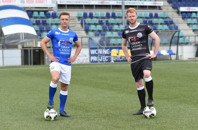 Het nieuwe thuis- en uittenue van FC Den Bosch.