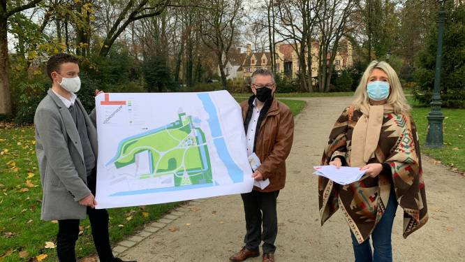 """Na 40 jaar krijgt Brugges bekendste en meest romantische park een make-over: """"We verbinden park weer met water"""""""