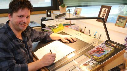 Steve Van Bael maakt stripreeks van populaire 'Nachtwacht'-serie