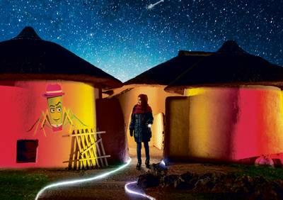 Lichtavonden in het Afrika Museum in Berg en Dal