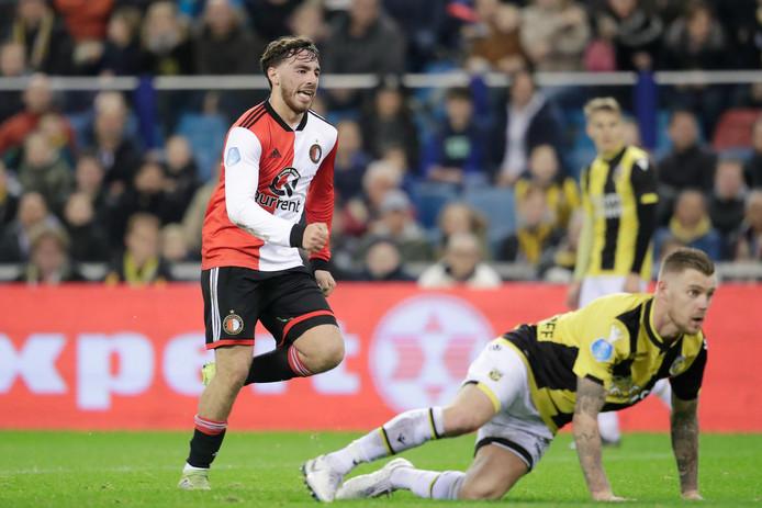 Orkun Kökcü stond in de basis tegen Vitesse en was trefzeker.