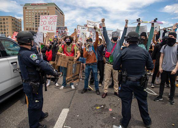 Protesten in Texas.