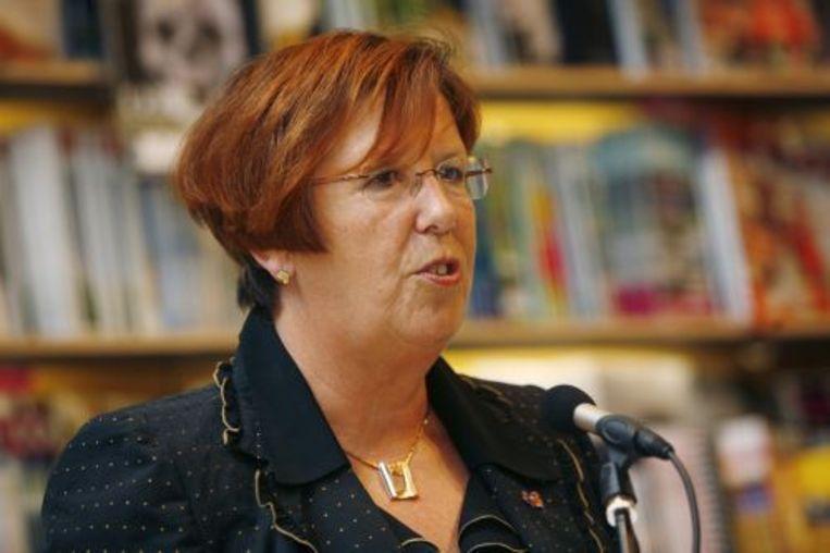 Burgemeester Annemarie Jorritsma. ANP Kippa Beeld