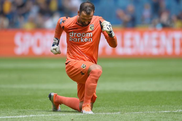 Doelman Eduardo is dit seizoen een van de spelers die van Chelsea wordt gehuurd door Vitesse.