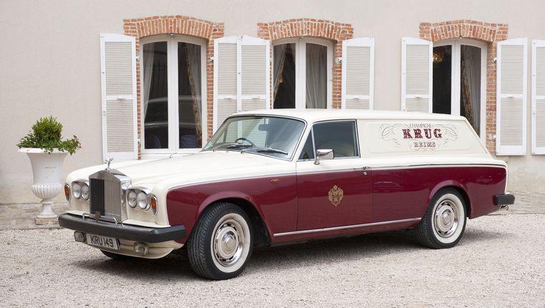 De bestelwagen van Krug is een Rolls-Royce. Beeld .